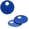 Sequins Hologram 20mm 4mm Hole Round Royal Blue